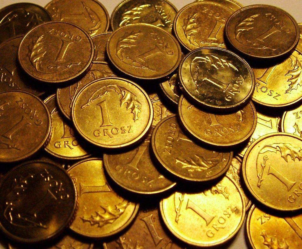 Zlaté mince jsou výbornou variantou pro vánoční dárek