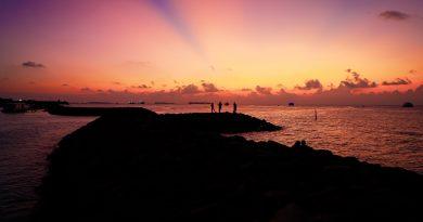 Beach Sunset Silhouettes Island  - glynhupalo / Pixabay