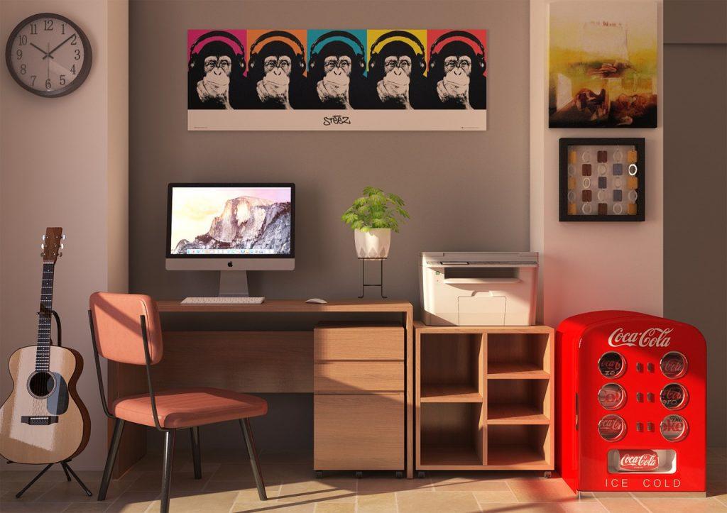 Interior Furniture Chair Desk  - BUMIPUTRA / Pixabay