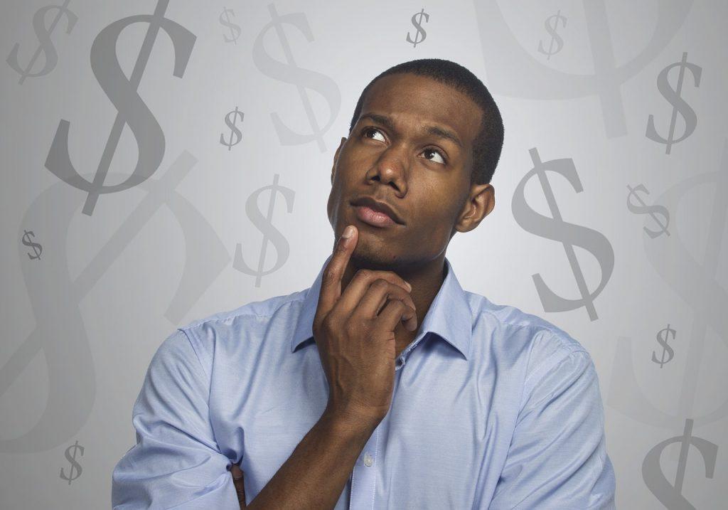Man Thinking Money Debt Mortgage - Tumisu / Pixabay