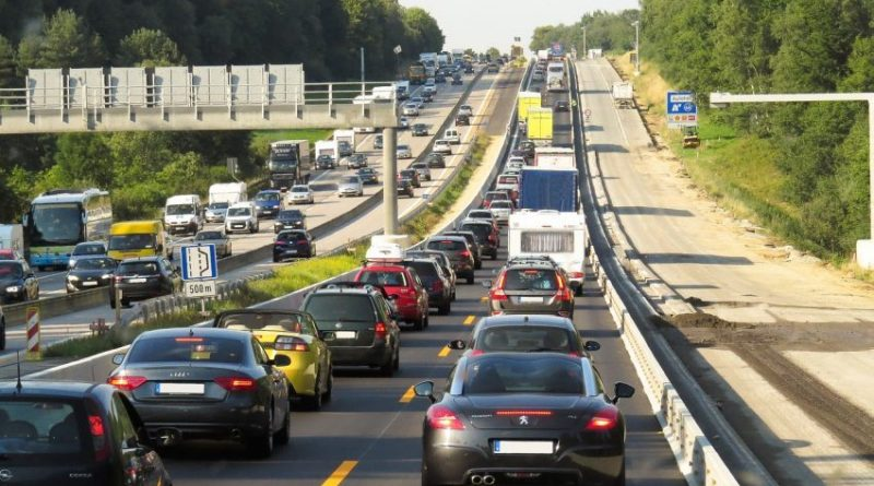 Traffic Jam Vehicles Highway Auto